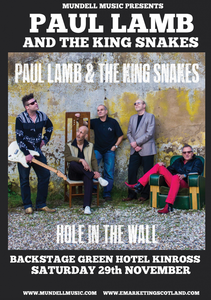 Paul Lamb & The King Snakes