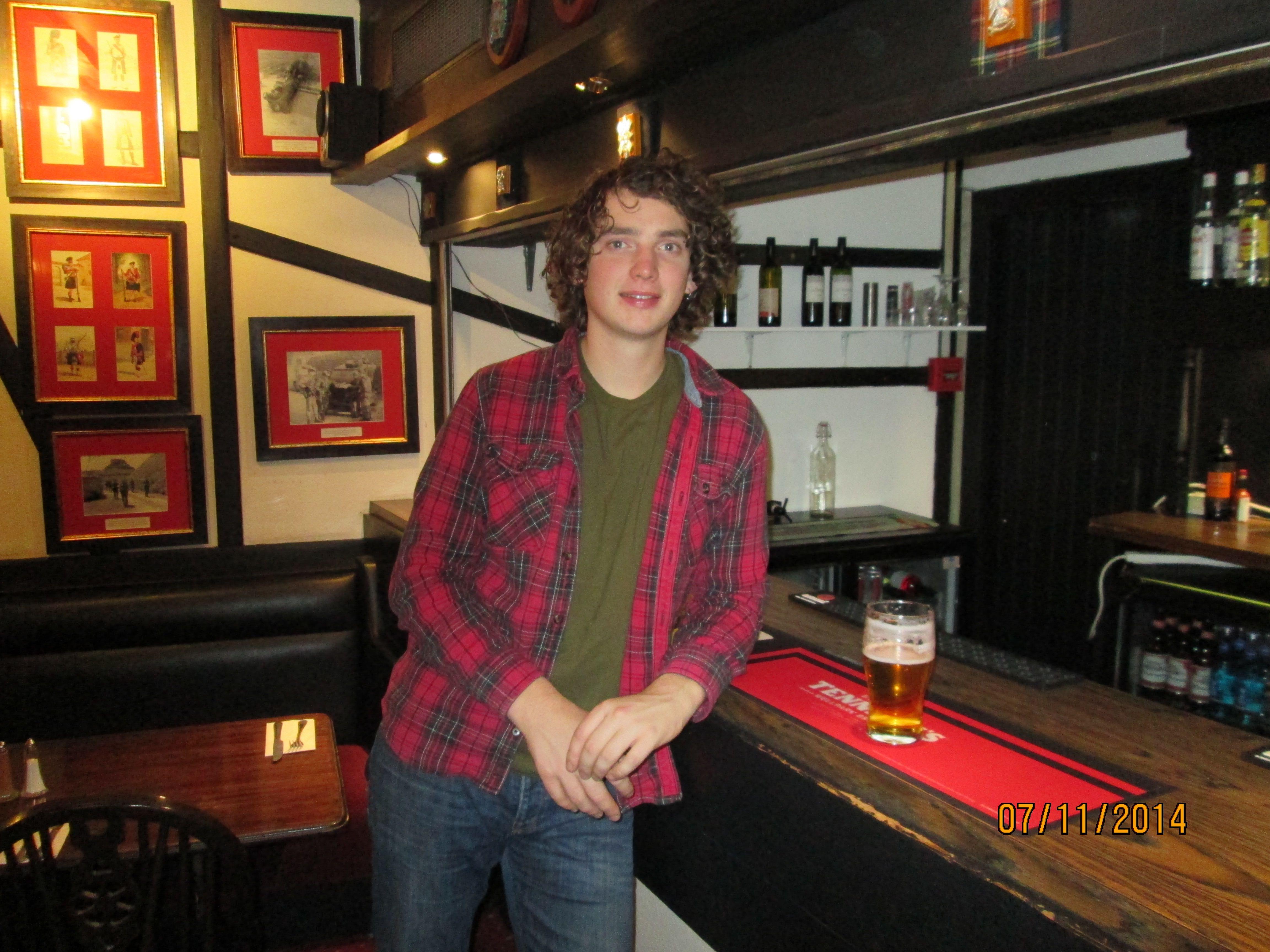 Dan Owen In Scotland