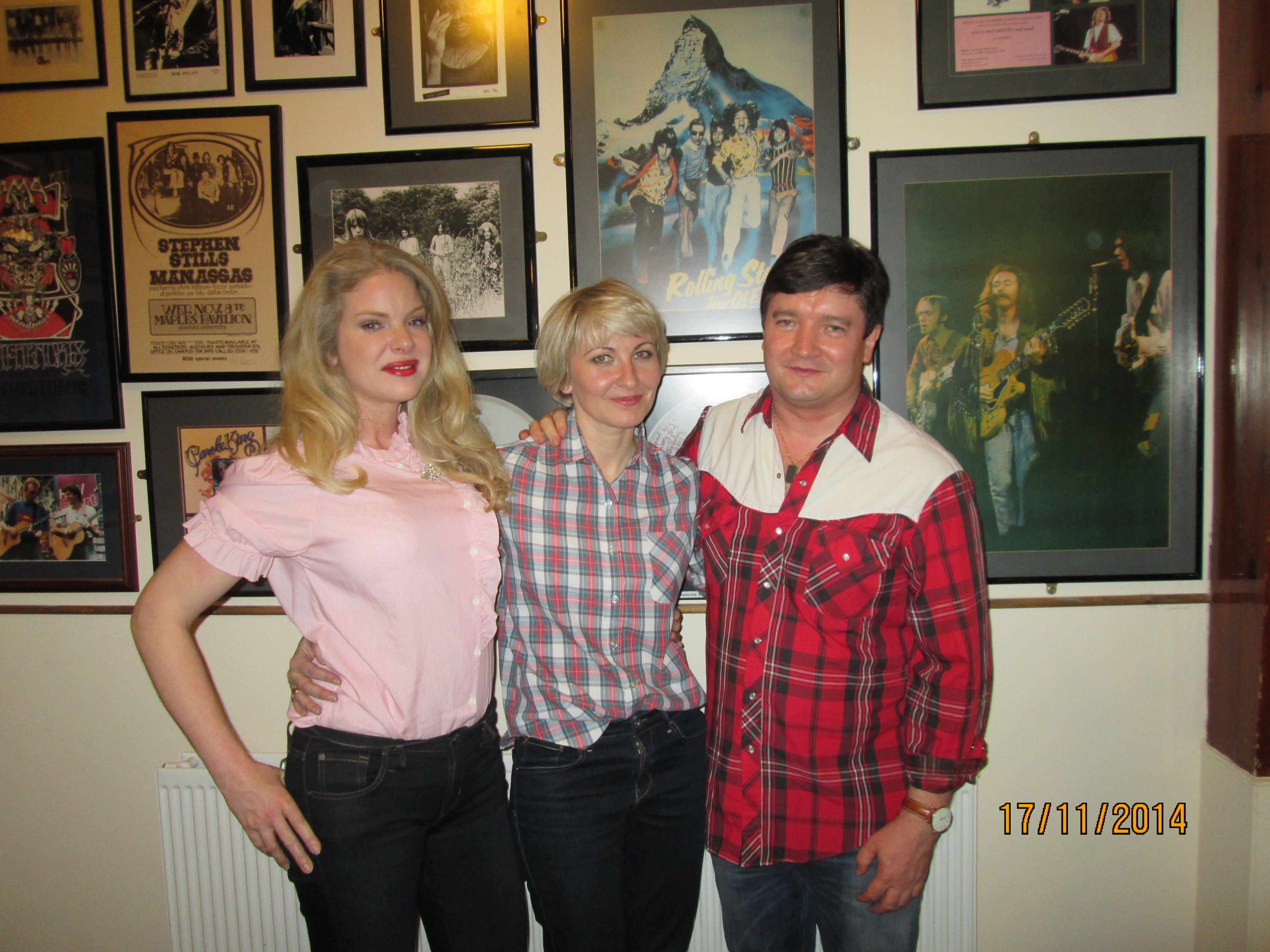 Ally McErlaine, Shelly Poole & Charity Hair