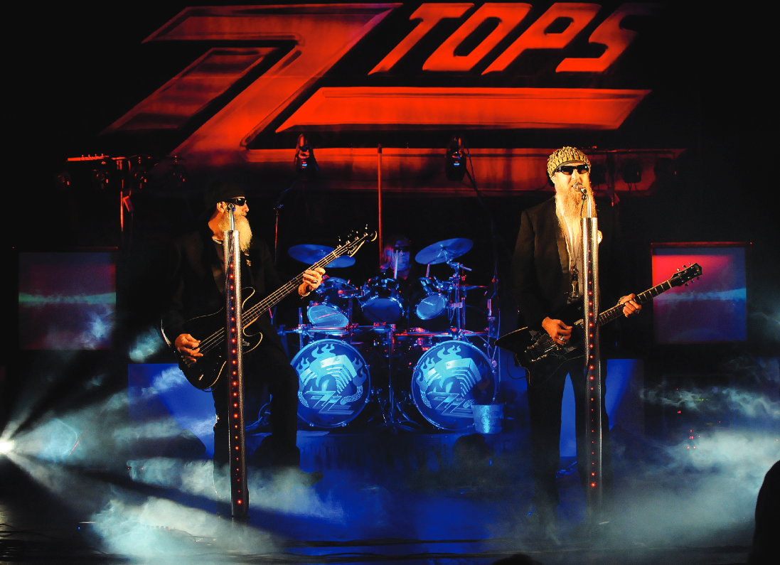 The Z Z Tops (Tribute) Play Backstage