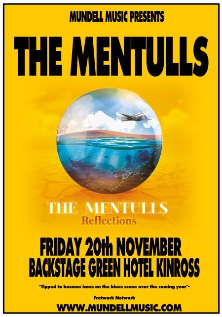 THE MENTULLS Tour Poster