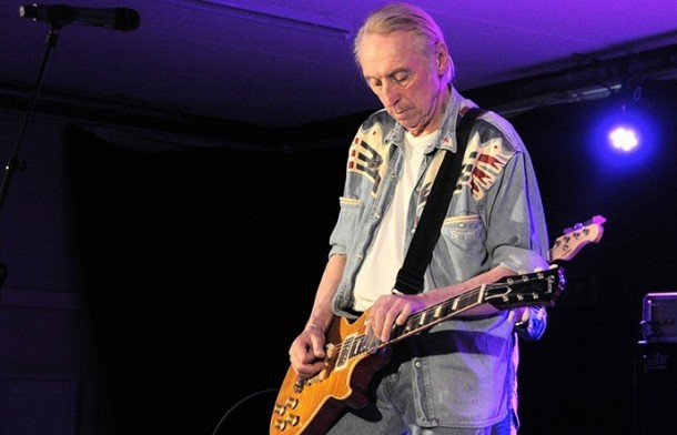 Stan Webb plays Backstage in Kinross for Mundell Music