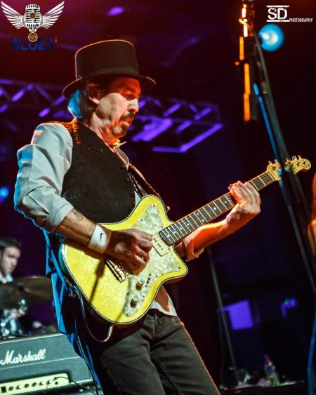 Micky Moody Band Play Scotland At Backstage Kinross.