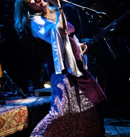 Deborah Bonham Plays Backstage In Kinross In October