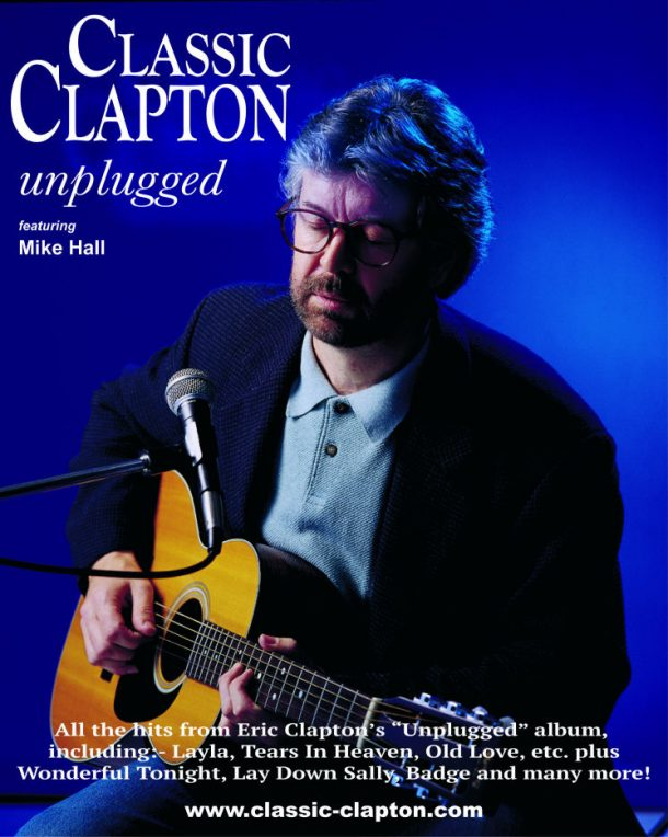 Classic Clapton / Unplugged play Backstage Kinross For Mundell Music