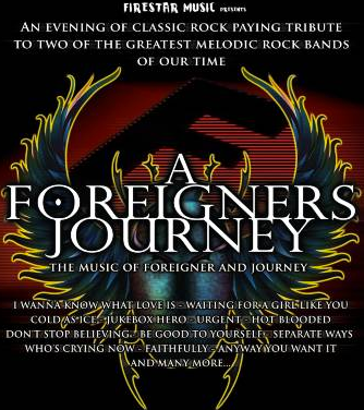 A Foreigners Journey play Kinross in September 2018 for Mundell Music