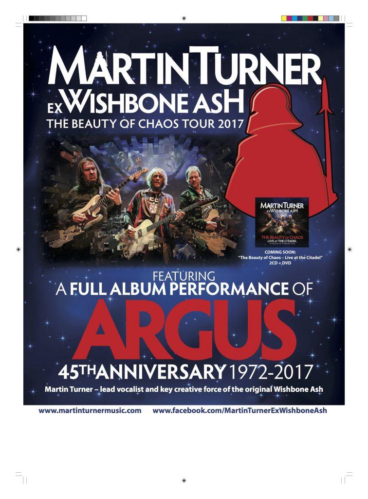 Martin Turner Plays Backstage Kinross For Mundell Music