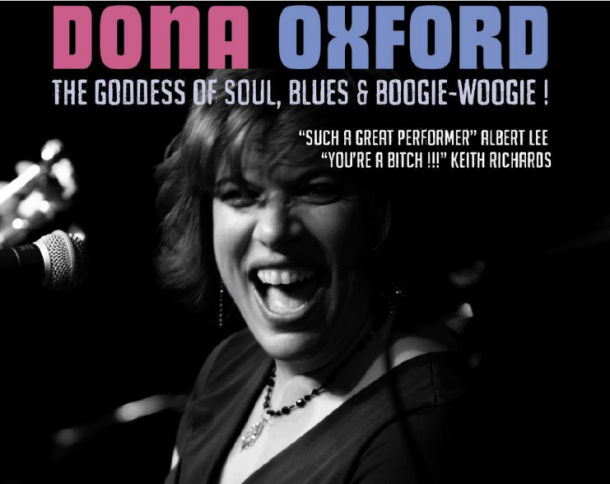 Dona Oxford plays Kinross for Mundell Music