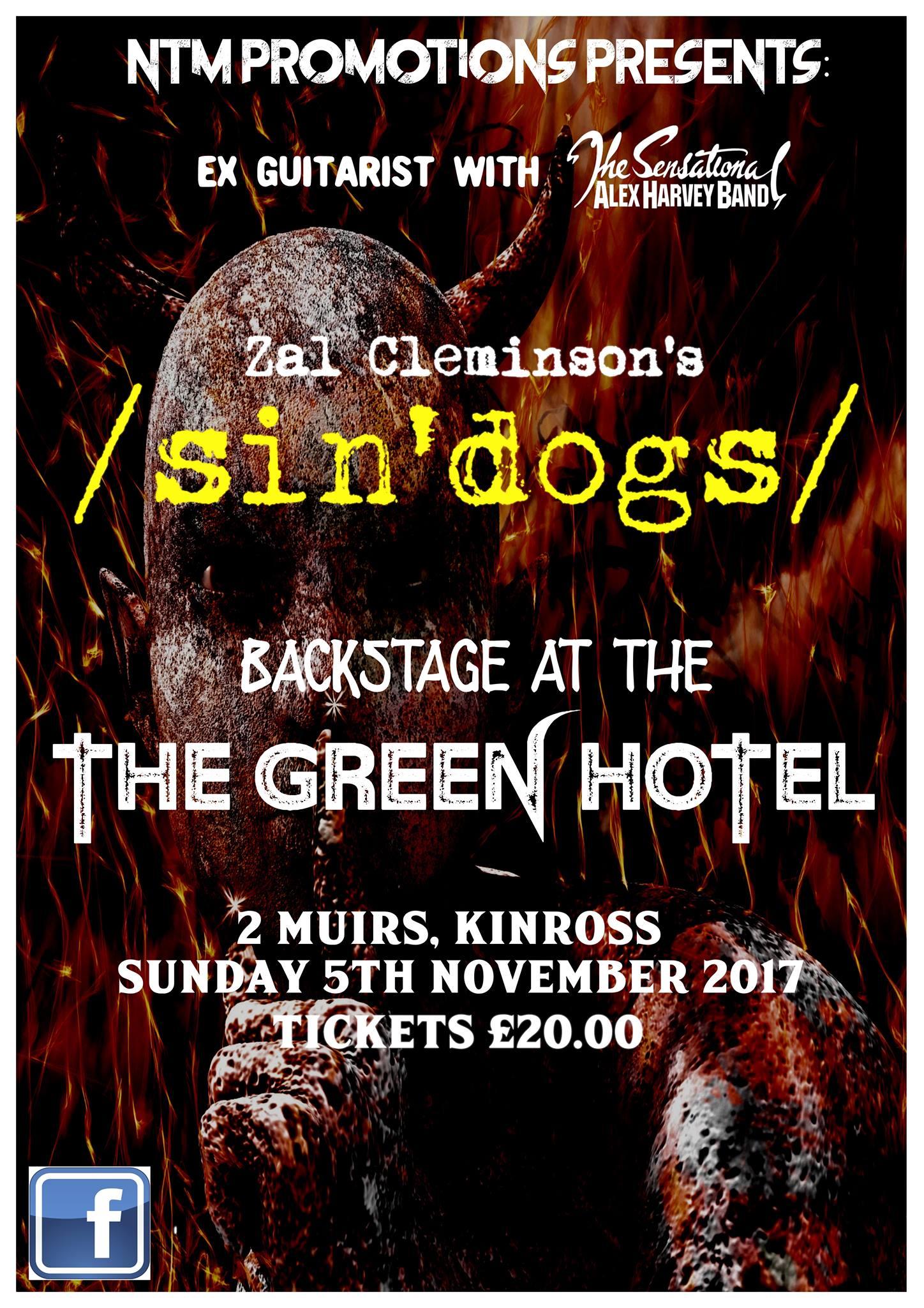 Zal Cleminson's Sin'Dogs