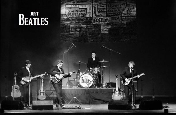 Just Beatles Play Backstage in Kinross For Mundell Music