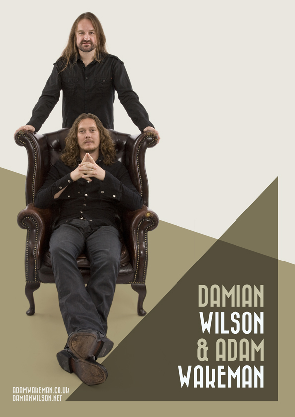 Wakeman and Wilson play Backstage Kinross On Friday 2nd Feb 2018.