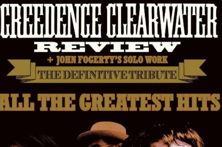 Creedence Clearwater Review Revisit Backstage