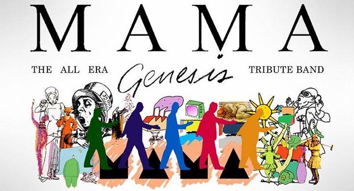 Mama Genesis Book Backstage In Kinross