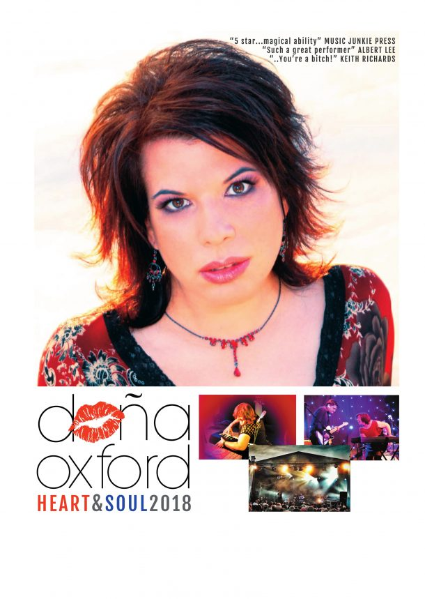 Dona Oxford plays the Live Music Venue in Kinross for Mundell Music