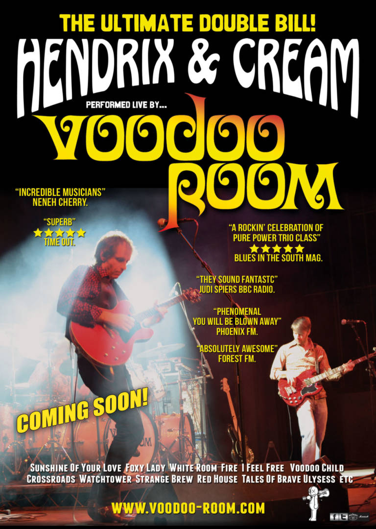 Voodoo Room Return To Backstage Kinross During October