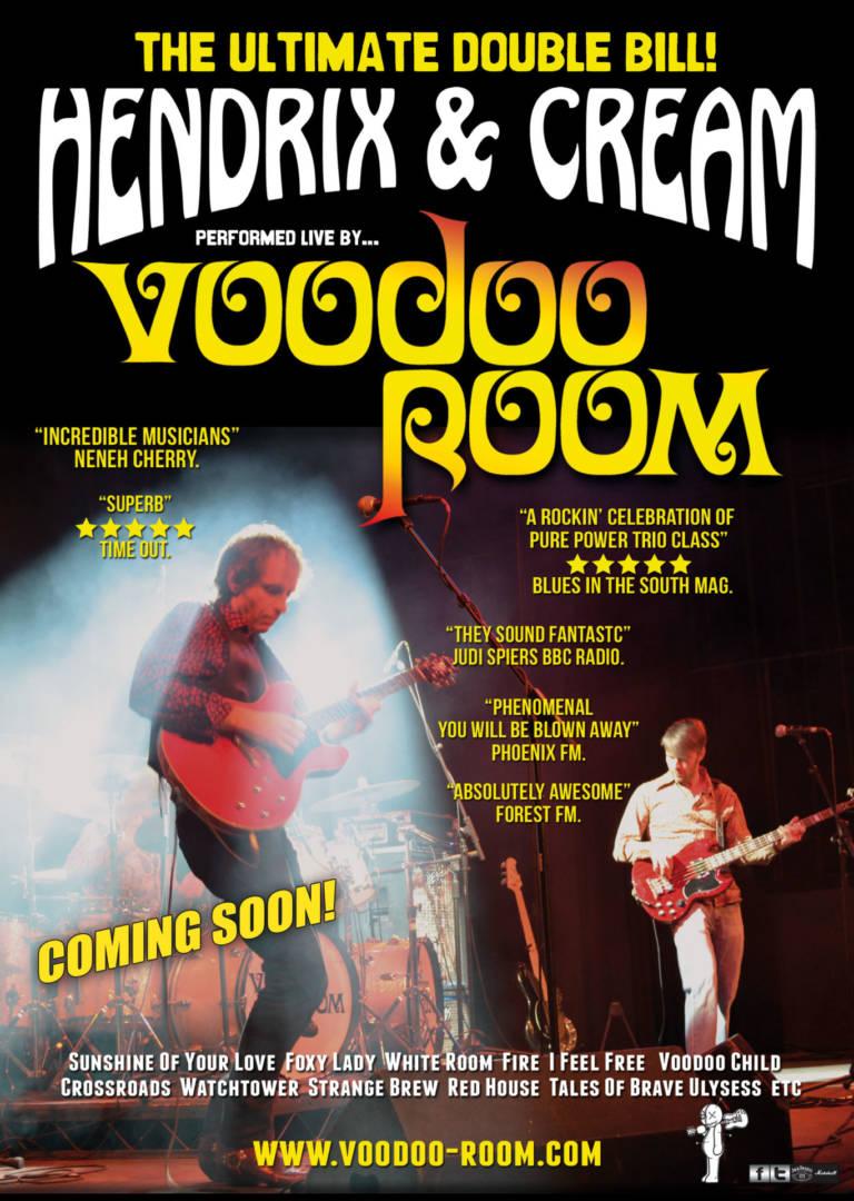 Voodoo Room Return To Backstage Kinross During October