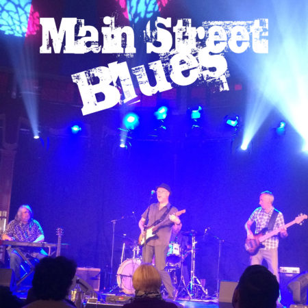 Main Street Blues play Backstage Kinross for Mundell Music