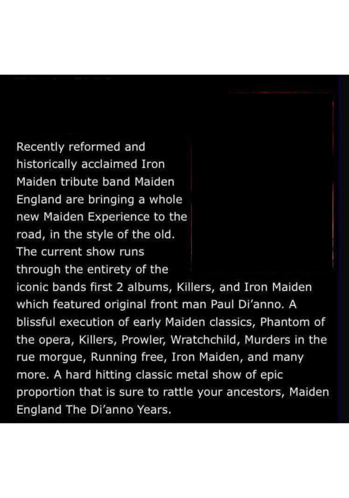 Maiden England play Kinross in February 2019 at Backstage