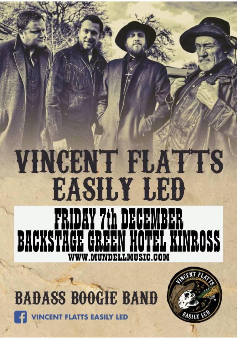 Vincent flatts Easily Led Play Kinross In December