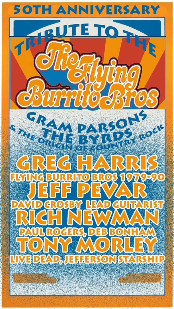 Flying Burrito Brothers 50th Anniversary In Kinross