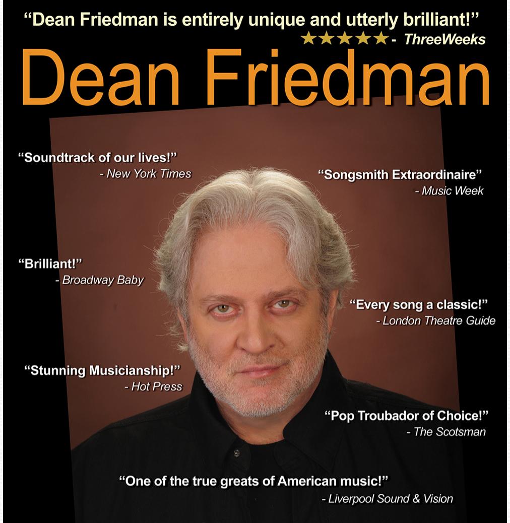 Dean Friedman Plays Backstage Kinross At Short Notice