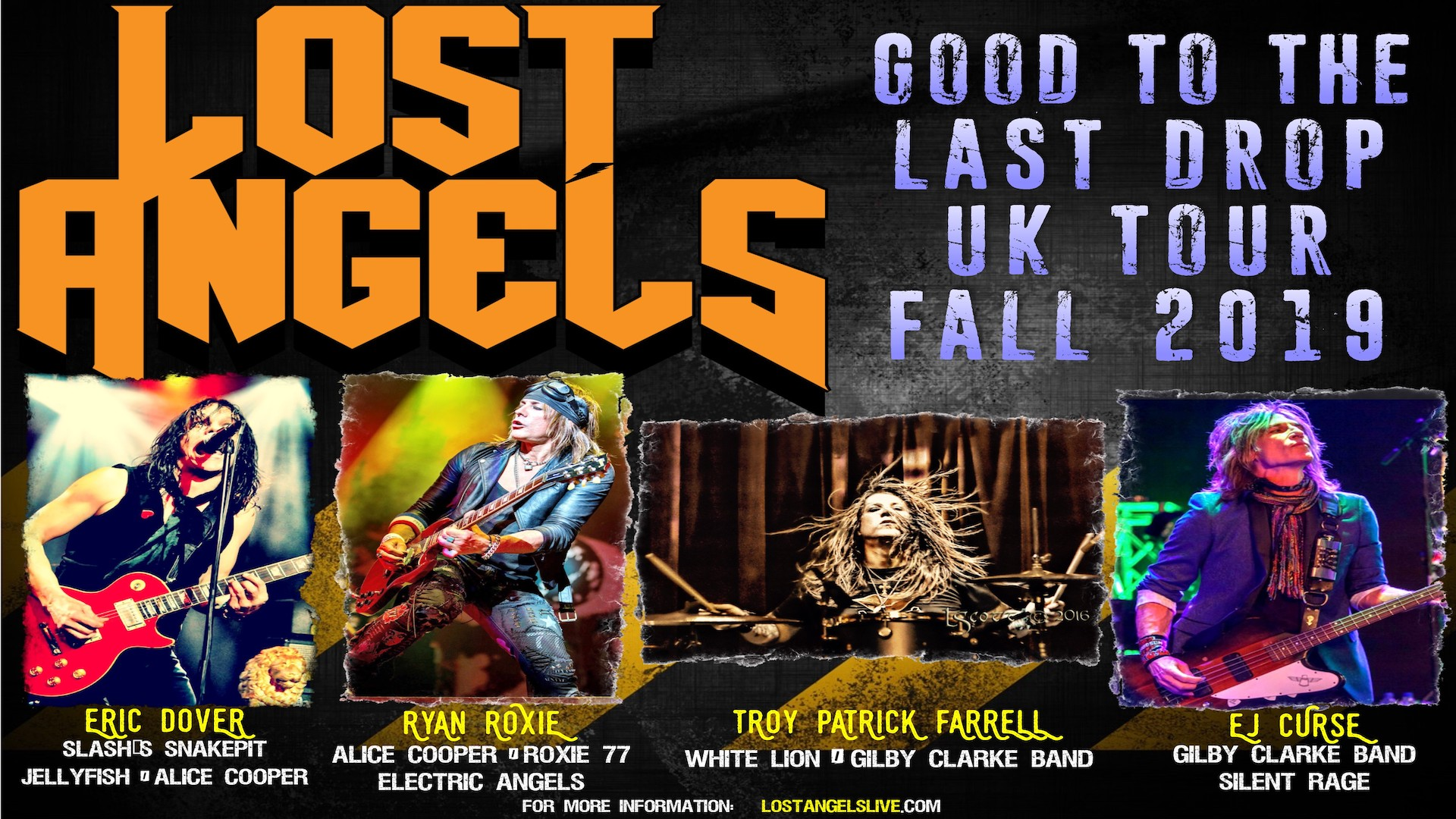 Lost Angels Come To Backstage Kinross