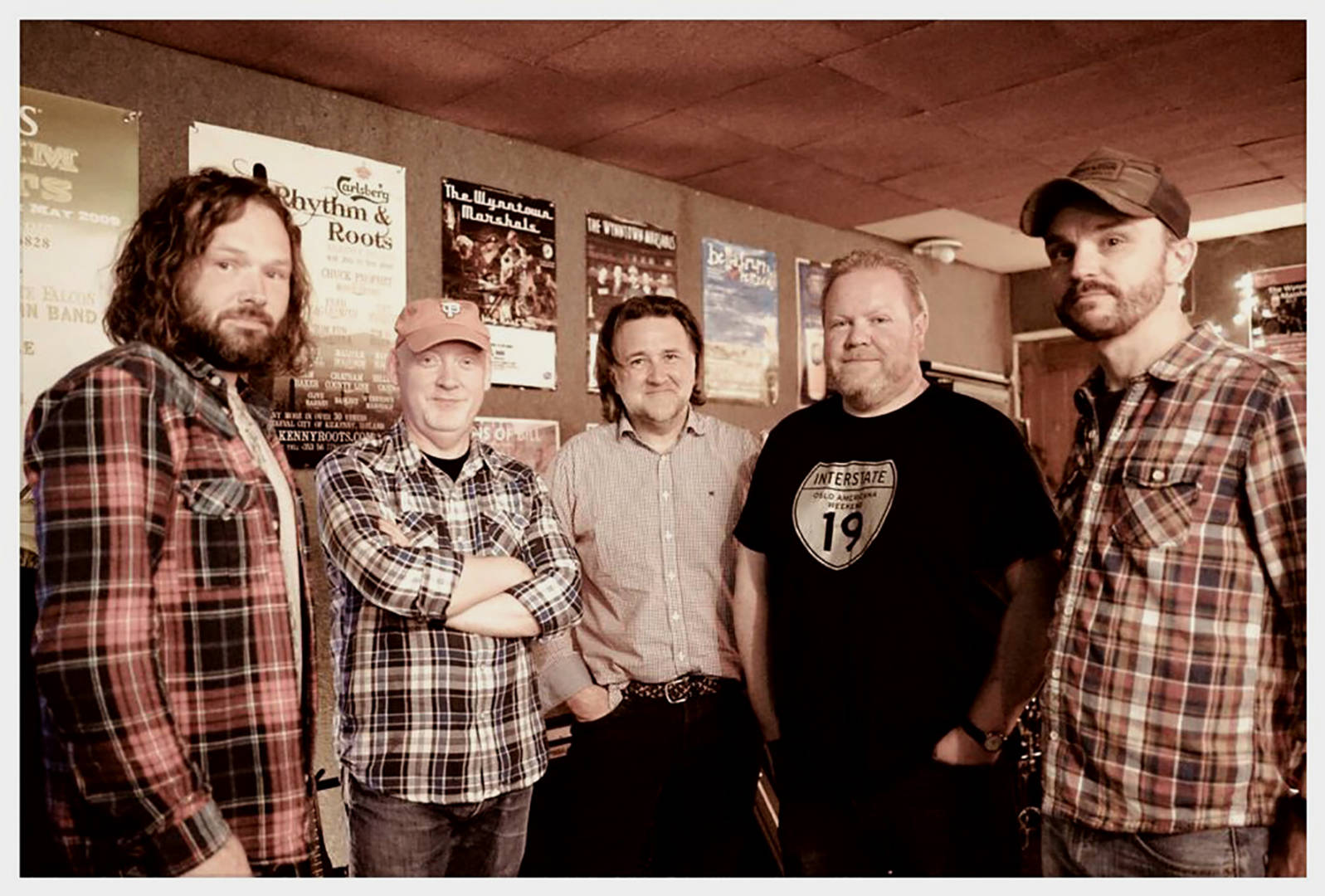 Wynntown Marshals play Backstage in Kinross