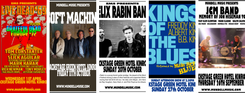 Gigs At Backstage Kinross You Have To See
