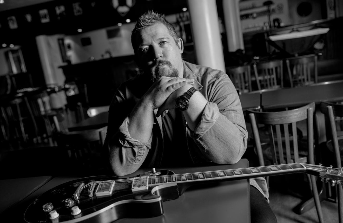 Stevie Nimmo Trio plays Backstage Kinross in March