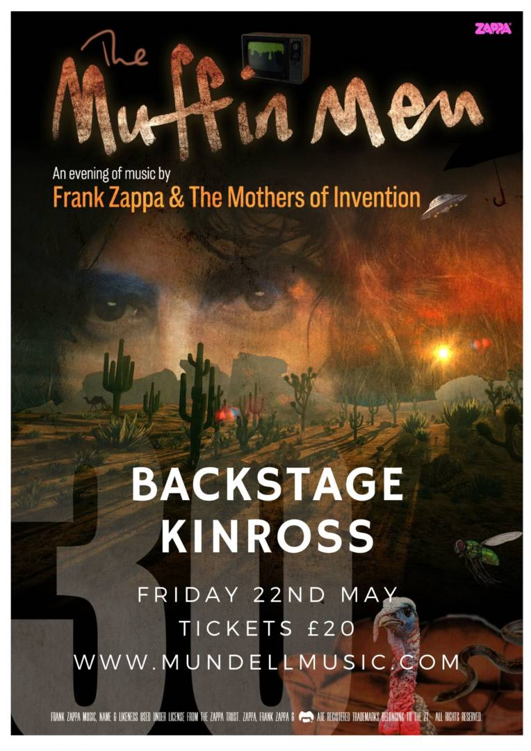 The Muffin Men (Zappa Tribute) Play Backstage Kinross.