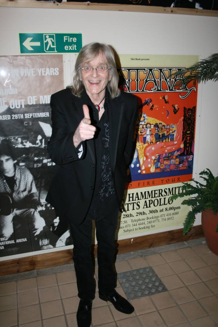 Henry McCullough At Backstage Kinross